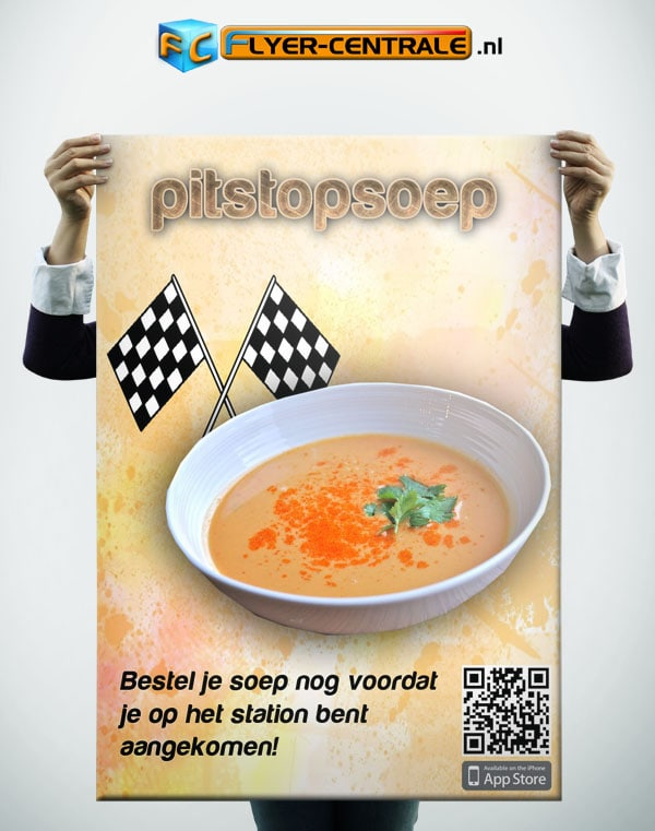 Flyer Portfolio template website