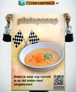 "Flyer :: 0003 :: ""Pitstopsoep"""