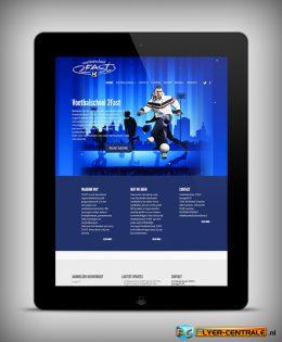 "Webdesign :: 0028 :: ""Voetbalschool 2FAST"""