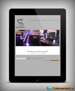 "Webdesign :: 0036 :: ""Café de Panter"""