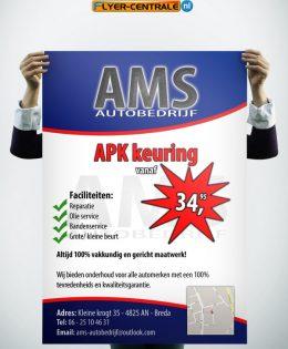 """Flyer :: 0027 :: """"AMS APK"""""""