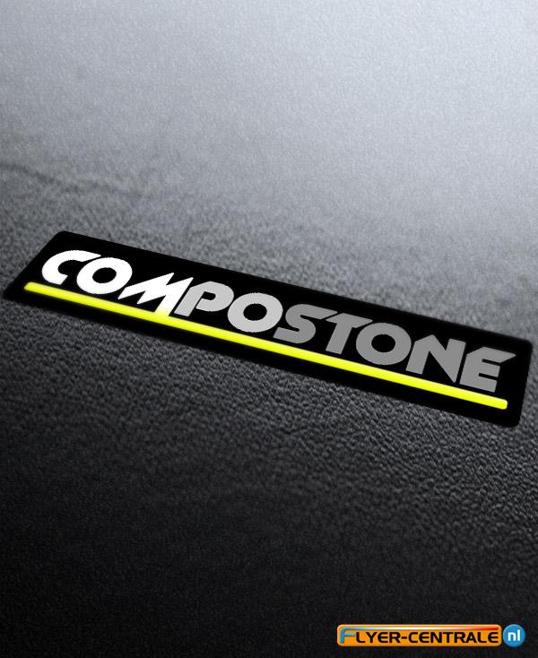Logo laten ontwerpen Mockup van Compostone