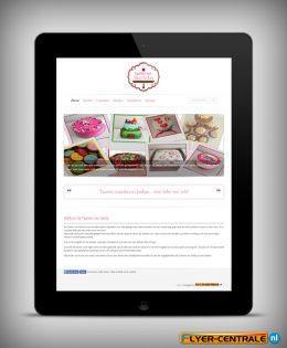 """Webdesign :: 0067 :: """"Taarten van Selda"""""""
